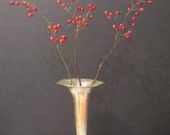 Vintage Silverplate Bud Vase