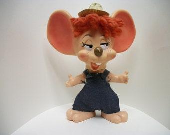 Vintage Roy Des. of Florida big eared Mouse Bank 1970