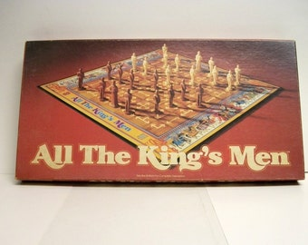 Parker Brothers All The King's Men Strategy Game 1979