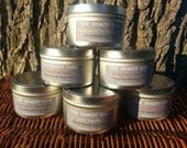 All-Natural Soy Wax Hand Poured Candle 8oz tin