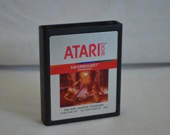 Atari 2600 Video Game: Swordquest Fire World