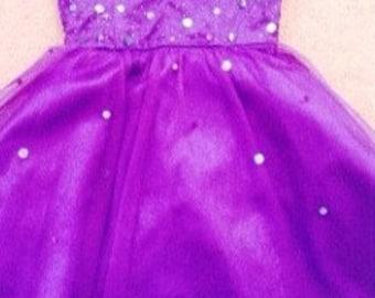 Purple Homecoming/Prom Dress