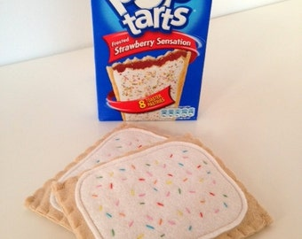 Felt Pretend Play Food Pop Tarts