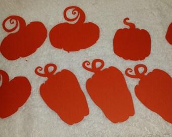 Fall Pumpkin Paper Cut-outs