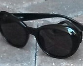 Christian Dior vintage black sunglasses c. 1990s