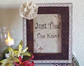 Picture Frame...Cottage Chic...Wedding...Anniversry...Event