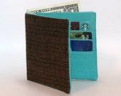 Slim Fabric Wallet