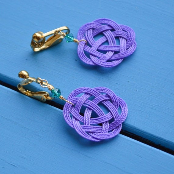 https://www.etsy.com/listing/171892615/purple-celtic-nautical-knot-clip-on