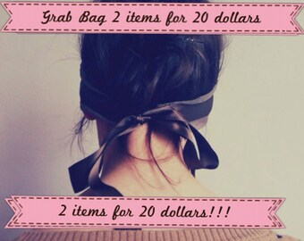 Grab Bag - Women Accessories - Fall Winter Fashion - Big Sale - Halloween Gift - Christmas Gift