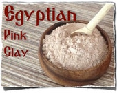 Egyptian Pink Clay - Moisturizing 1 package (150g/5.3oz)