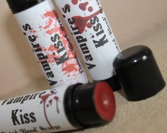 Vampire's Kiss- Red Tint Lip Balm- Blood Orange- Lipbalm- Halloween- Dracula- Horror- Prince Of Darkness- Medusa Holistics