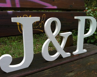 Set of 3 wooden letters XL 2.0 custom