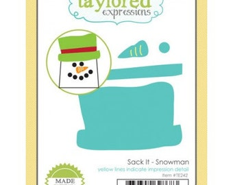 Taylored Expressions  Sack it - Snowman