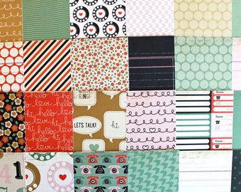 6x6 Switchboard Collection By Pink Paislee 48 Sheet Paper Pack