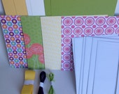 Stampin' Up! Floral District Card kit (6 cards) summer birthdays, thank you, greeting cards