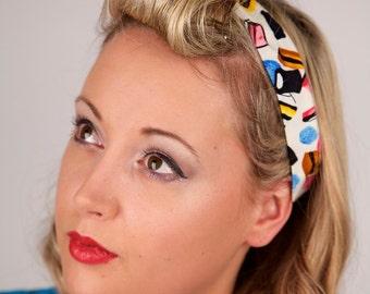 Cream Liquorice Allsorts Headband