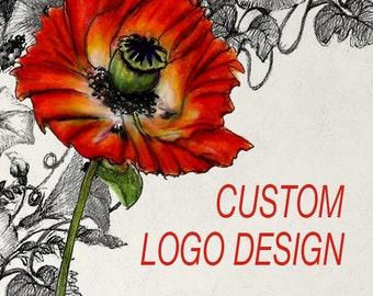 Custom LOGO Design, Custom Logo, Custom Business Logo, Small Business Branding Package, Business Logo Design, Logo, Photography Logo