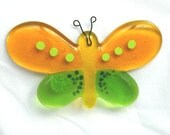 Beautiful Fused Glass Butterfly