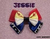 Jessie Hair Bow Toy Story Disney Inspired