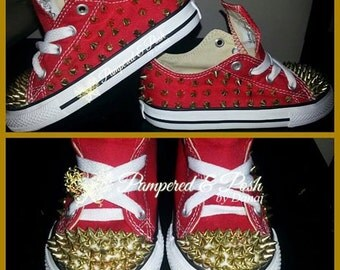 SPIKED CONVERSE-TODDLER