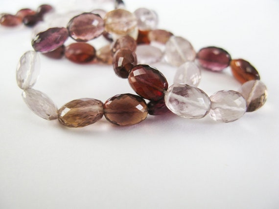 Fluorite Nuggets, AAA, 7-9mm, Half Strand, Berries Fluorite, 20 Nugget Beads