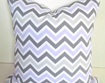 PILLOW Lavender Pillows Lavender Decorative Throw Pillows Purple Chevron Pillow Covers 16x16 18 20 Gray Throw Pillows Purple Baby Nursery