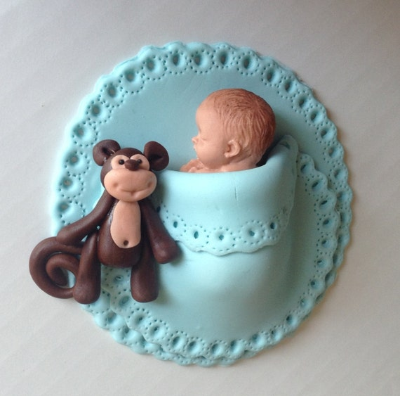 Cake Art Llc : SAFARI BABY SHOWER Cake Topper Fondant Baby Safari Cake ...