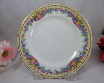 Rare 1930s Charles Ahrenfeldt Limoges France Luncheon Plates  - 4 available
