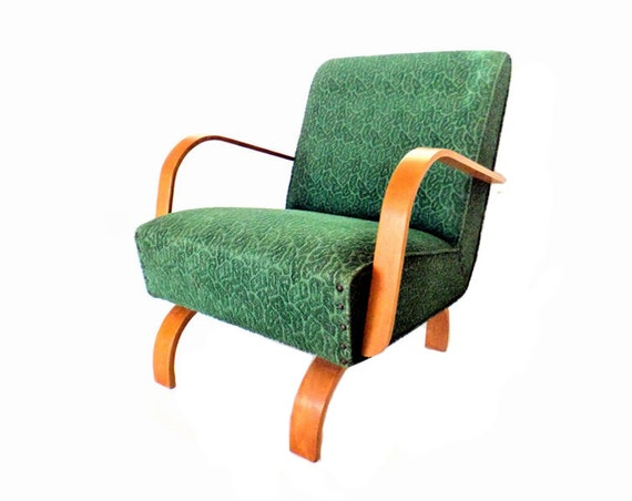 Century modern rocking chair bent plywood chair danish lounge chair