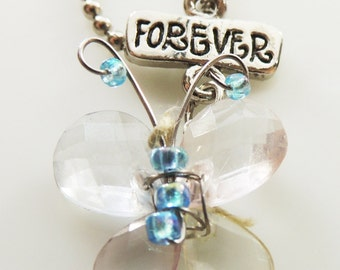 Vintage Jewelry Forever Butterfly necklace