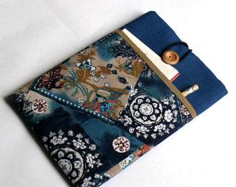 "8""-10"" Tablet Case, iPad PRO 9.7 Case, iPad Air/ Air 2 Case, iPad Sleeve with Pocket-SUPERIOR Shock Absorbent Foam Padding - Designer Fabric"