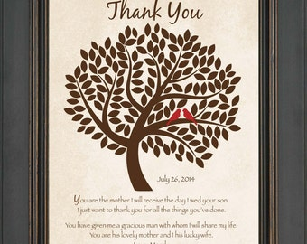 how to thank mom in law wedding