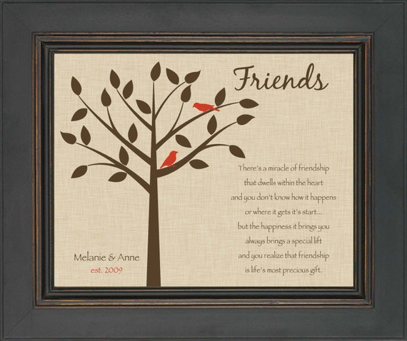 Wedding Gift Ideas For Best Friend Girl: Best Friend Gift Personalized Gift For A By KreationsbyMarilyn