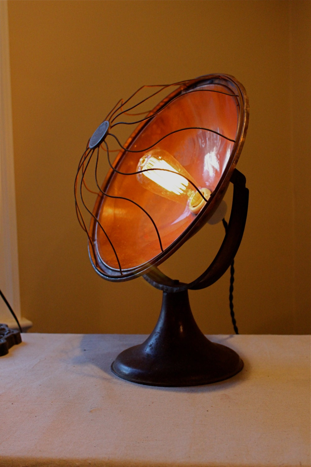 Vintage Copper Chill Chaser 50 Space Heater Accent