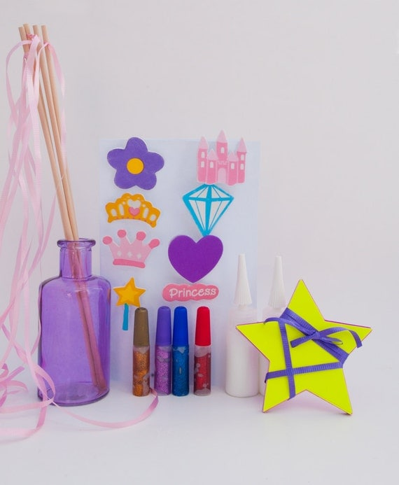 items similar to wand craft kit princess party craft