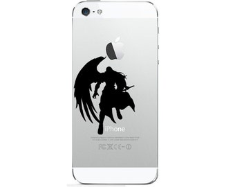 iPhone 4, 5, 6 Decal  Sticker  Final Fantasy 7 Sephiroth