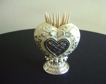 Brighton Heart Vase, Tooth Pick Holder or Etc.