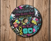 80's Party CD Label