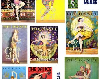 The Dance Digital Collage Sheet