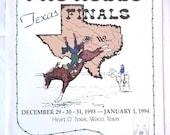 1993-94 Dodge Pro Rodeo Texas Finals Program Waco Texas