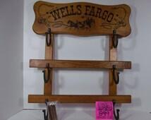 Tales of Wells Fargo Gun Rack, 1950's