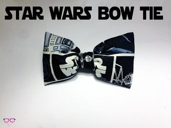 items similar to star wars bow tie on etsy