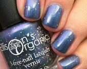 Purple Nail Polish - Blue Nail Polish - All of Time and Space - Vegan Nail Polish - Color Shifting Nail Polish - Glitter Nail Polish