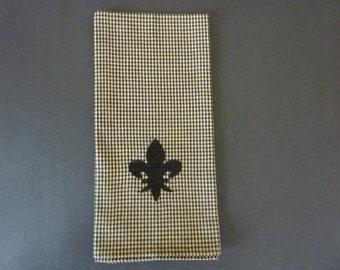 Fleur de Lis Dish Towel