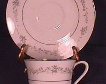 Mint Wyndham Melody pattern Cup and Saucer