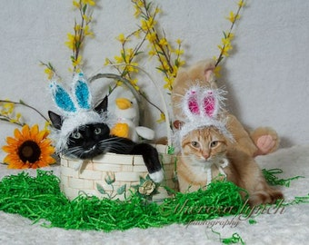 Easter Bunny Ears Hat for Dogs or Cats