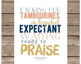 Ready to Praise [8x10] (Created4Care2014)