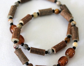 Therapeutic Hazelwood Bracelet - Jasper Beads