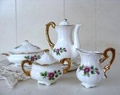 Vintage Genuine Bone China MINIATURE Tea Set