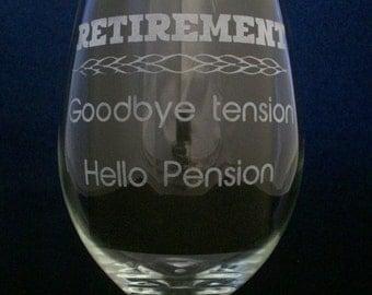 Retirement, retirement gifts, retirement gift for women, retirement gifts for men, hello pension goodbye tension, retirement gift
